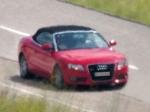 Шпионские фотографии Audi A5 Cabrio в Швейцарии