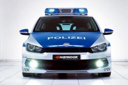 Volkswagen Scirocco Police edition [ноябрь, мотор-шоу в Эссене]