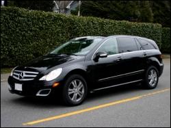 Появился обновленный R-Class Mercedes