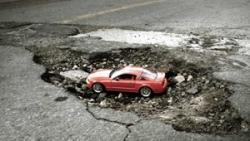 Опасности вождения весной