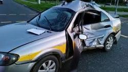 Орша: в результате столкновения такси и мотоцикла есть жертвы