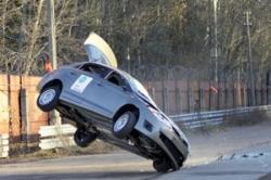 В ГАИ высказали озабоченность частыми опрокидываниями машин