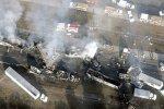В Калифорнии столкнулось 50 автомобилей