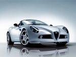 Открытая версия Alfa Romeo 8C