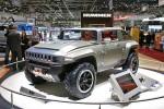 В Женеве показали крепыша — Hummer HX Concept